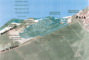 35.55 acres Baldwin Beach land accompanying A&B Business Park offer - click to enlarge