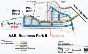 Proposed County Service Center at A&B Business park - click to view larger
