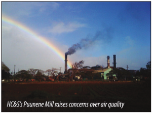 HC&S's Puunene Mill raises concerns over air quality