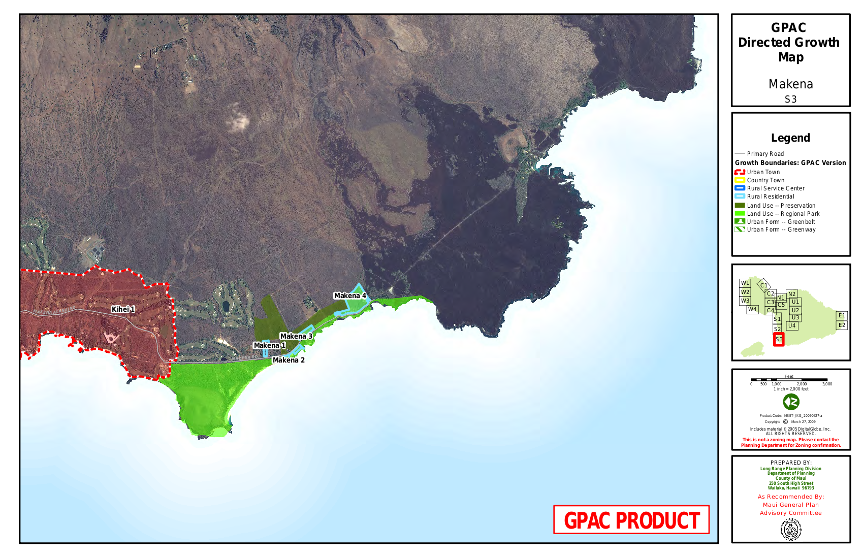 GPAC Directed Growth Map Makena