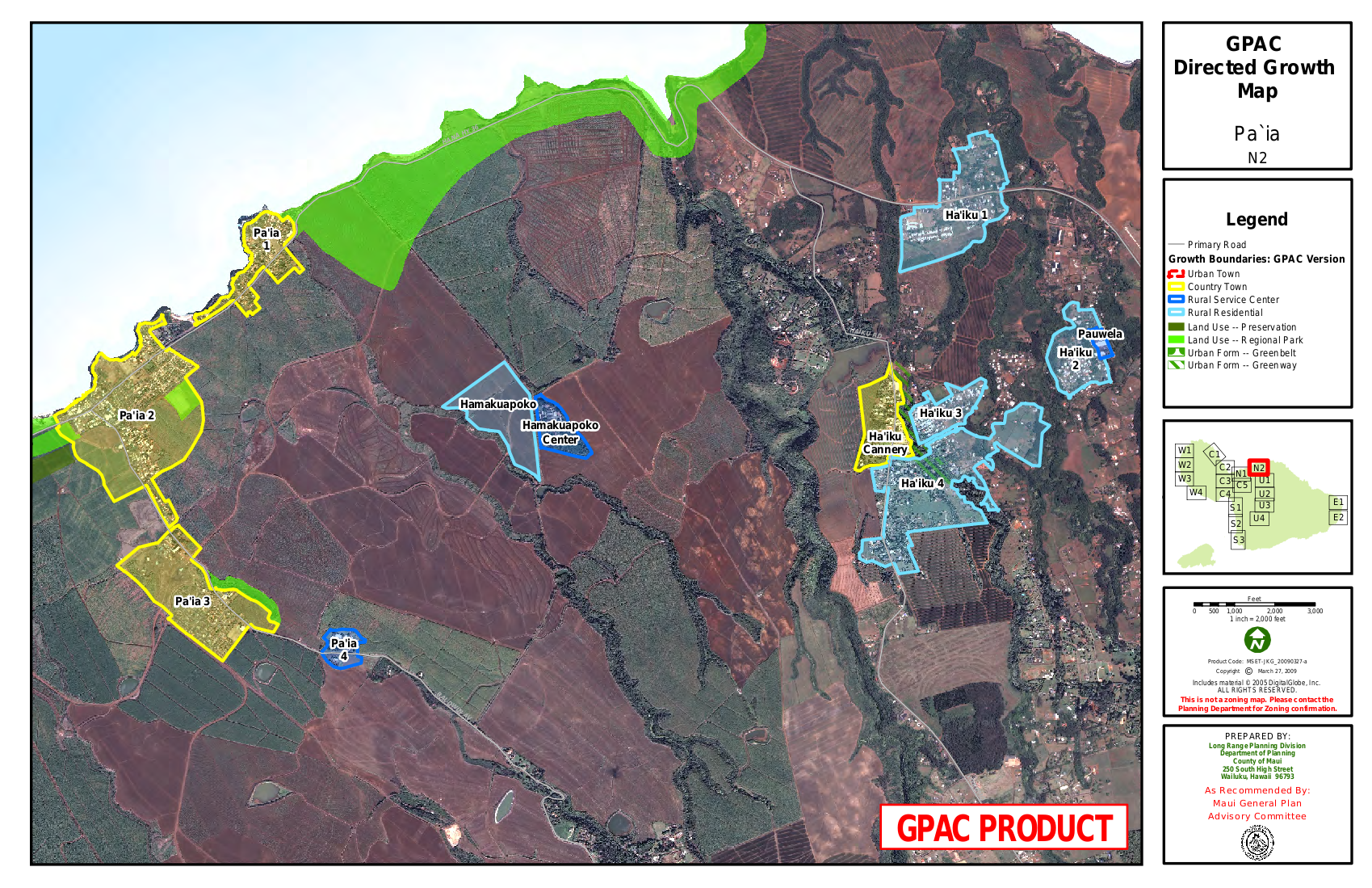 GPAC Directed Growth Map Paia