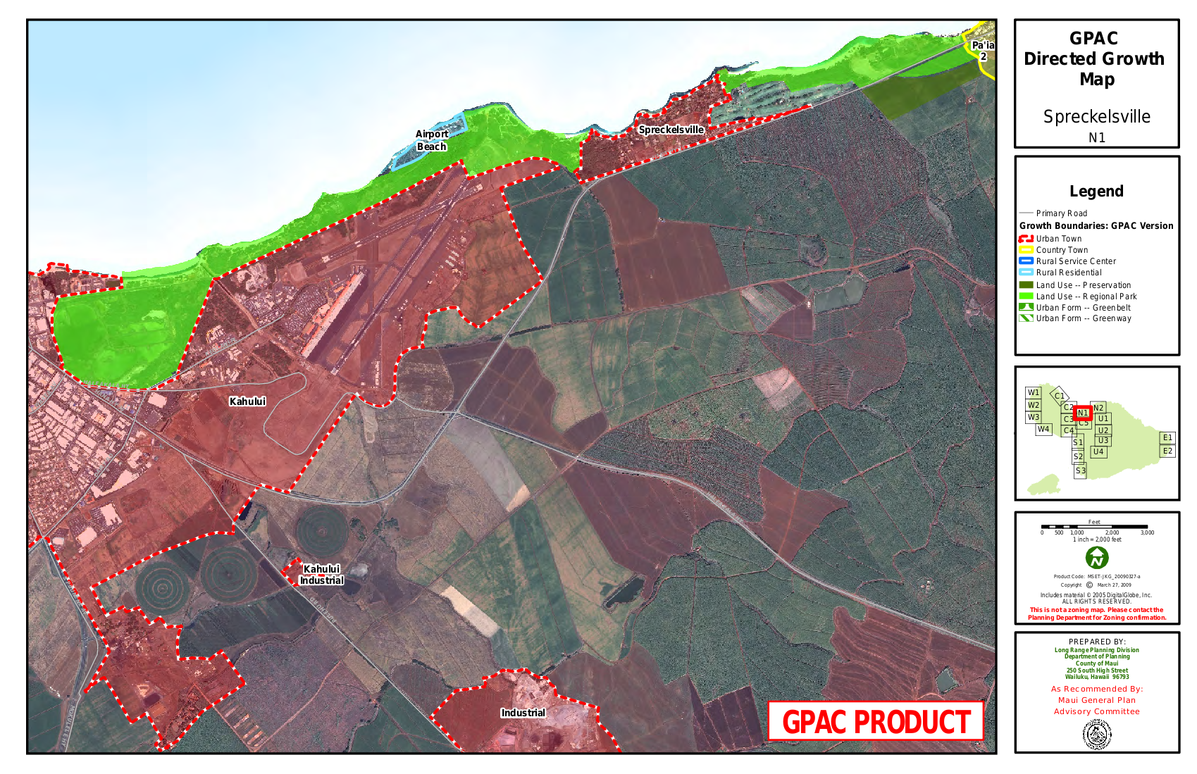 GPAC Directed Growth Map Spreckelsville